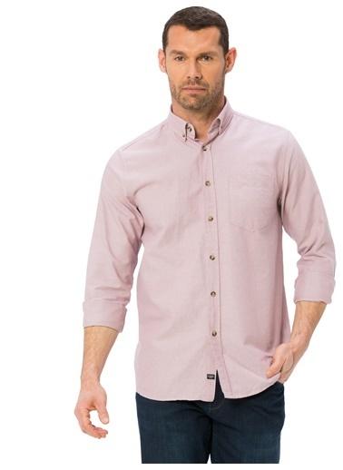 LC Waikiki Uzun Kollu Gömlek Pembe